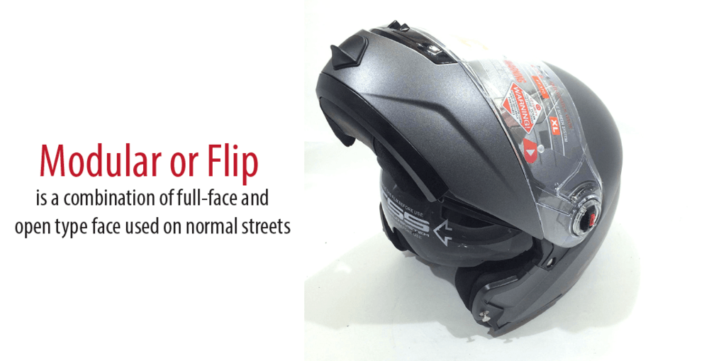 Type of best modular helmet or best flip up helmet