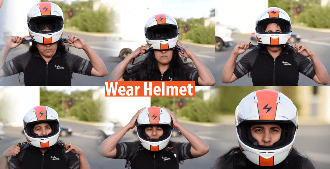 how to measure for motorcycle helmet