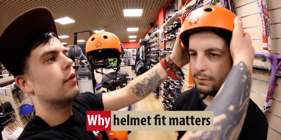 Why helmet fit matters