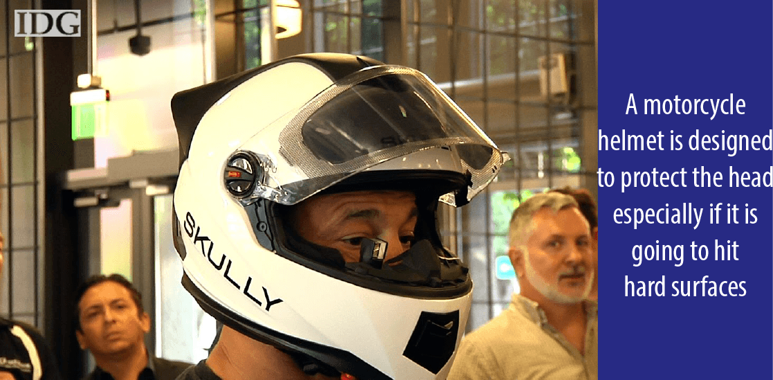 What does a Motorcycle Helmet Do?