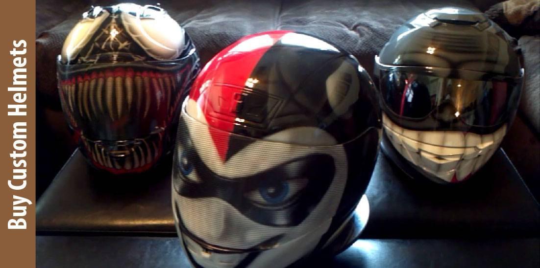 Buy Custom Helmets for Sale