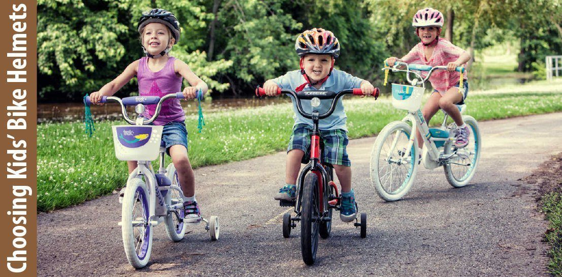 Tips on choosing kids bike helmets