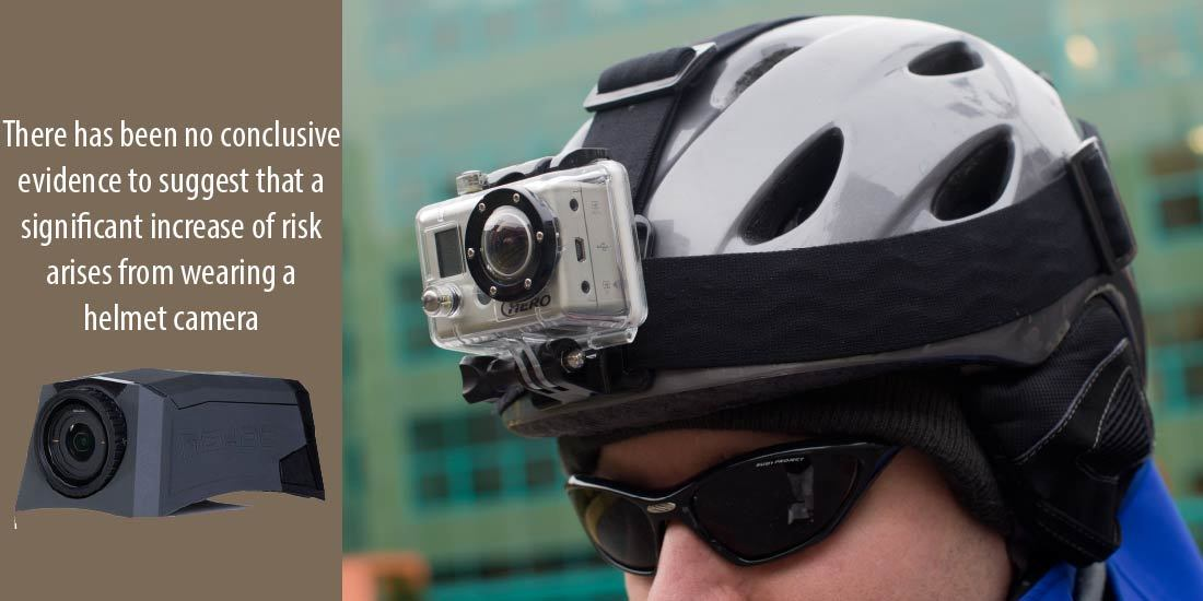 are motorcycle helmet camera legal and risk of injury