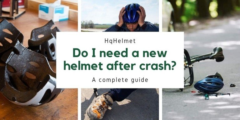 How To Tell If You Need a New Bike Helmet After a Crash